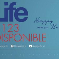 DJ Arafat en couverture du Life 123 spécial fin d'année