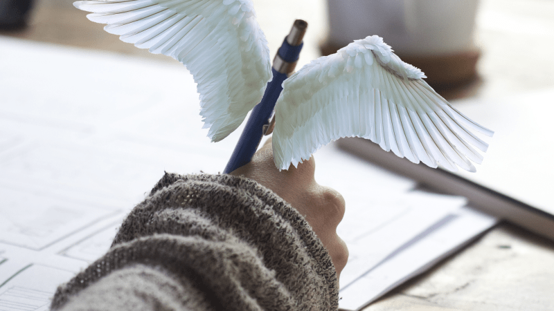 Give wings to your creative writing!