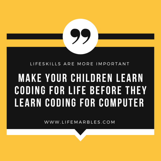 Coding for kids , coding , life skills,  child mental health