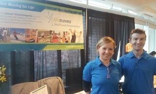 North Vancouver Chamber of Commerce Tradeshow 2013 Kinesiologists