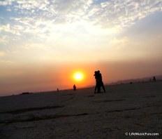 Burning Man Sky Sun 2013