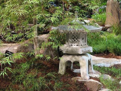 ландшафтный дизайн выставка в бостоне японский сад садовый фонарь