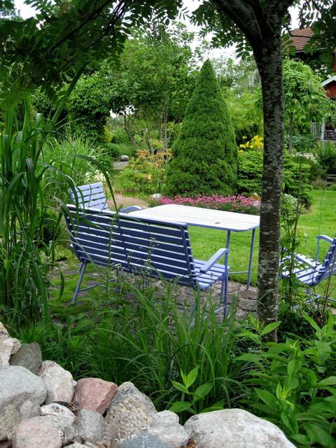 ландшафтный дизайн патио камни в саду