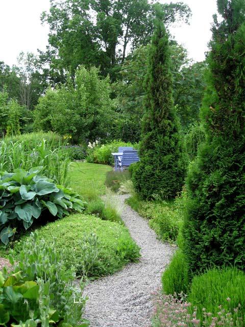 дорожка в саду ландшафтный дизайн дача