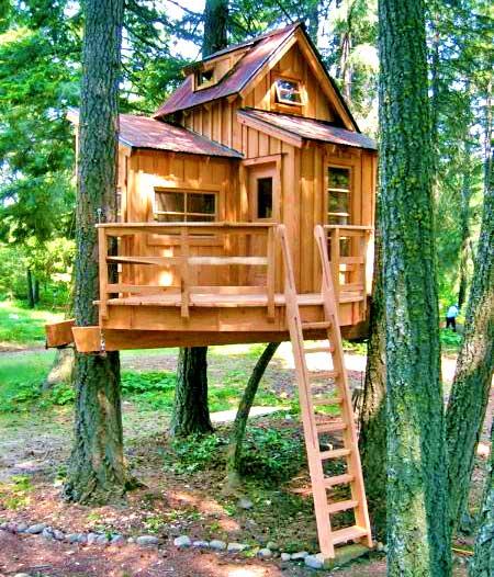 Идея домика на дереве