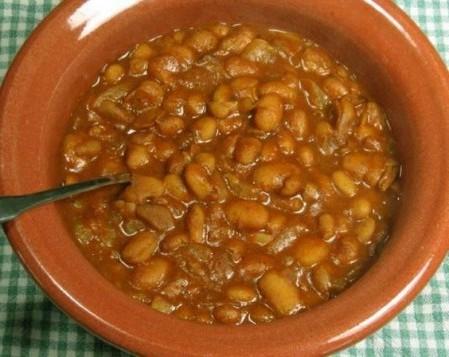 Суп из соевых бобов