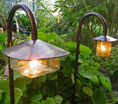 садовые солнечные фонари 5