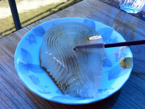日本一うまいトコロテンは大島区で食べれます