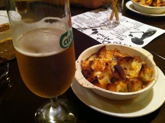 【上越】「Pacco(パッコ)」のパングラタンとビール