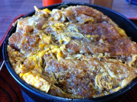 【糸魚川】有名な「大むら」のカツ丼2