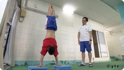 玉井陸斗 筋肉 経歴 飛び込み コーチ 中学