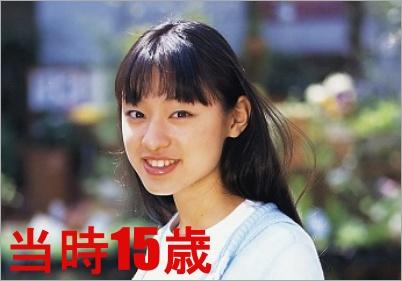 栗山15歳 女優デビュー