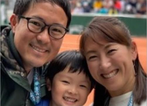 杉山愛の家族について