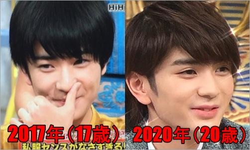 顔の変化2