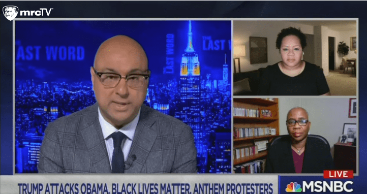 MSNBC Calls President Trump a Racist, Says He Doesn't Think Black Lives Matter