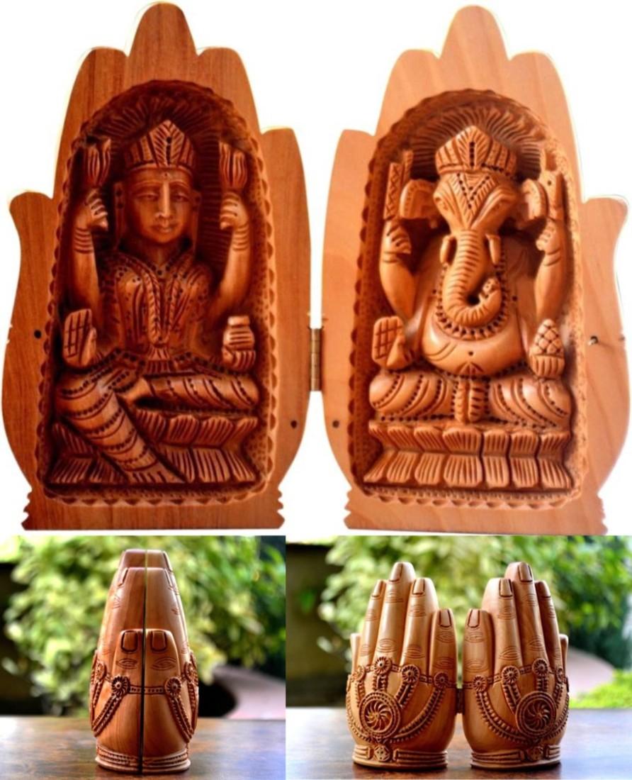 ganesh-lakshmi-hands-idol