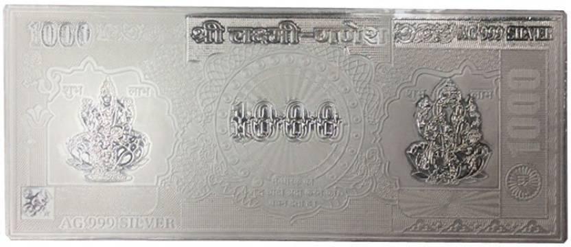 lakshmiganesh1000-kataria-jewellers-lakshmi-ganesh-1000-note-original-imaecxcxhzggnt77