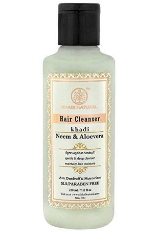Khadi Natural Neem & Aloevera Herbal Shampoo