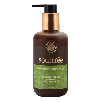 Soultree Licorice & Shikakai with strenghening Bhringraj Hair Repair Shampoo