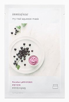 Innisfree Real Squeeze Mask Sheet Acai Berry