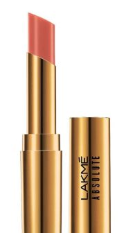 Lakme Absolute Argan Oil Lip Color, Soft Nude