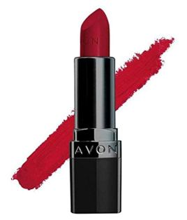 Avon True Color Perfectly Matte Lipstick, Red Supreme