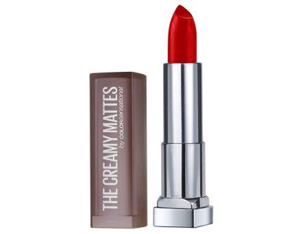 Maybelline Creamy Matte Lipstick, Siren in Scarlet