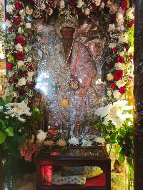 , The miraculous icon of St. Spyridon in Kasteli