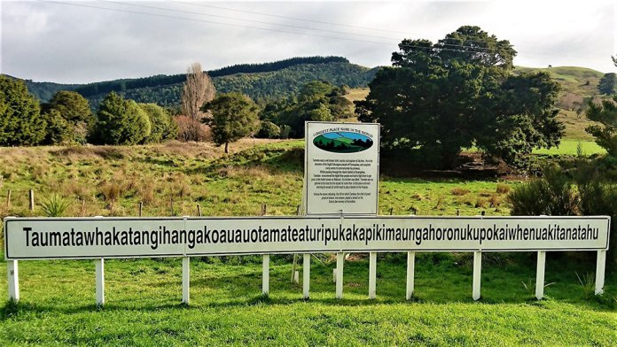, The longest place name consists of 86 letters!