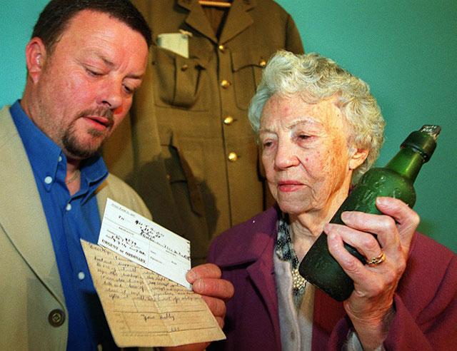 , Συγκινητικό γράμμα σε μπουκάλι βρέθηκε μετά από 85 χρόνια