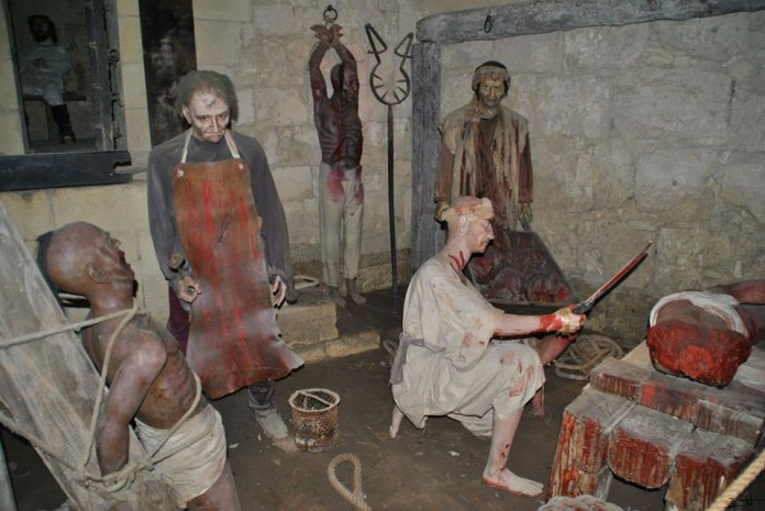 , The shocking torture museum (photos only for adults)