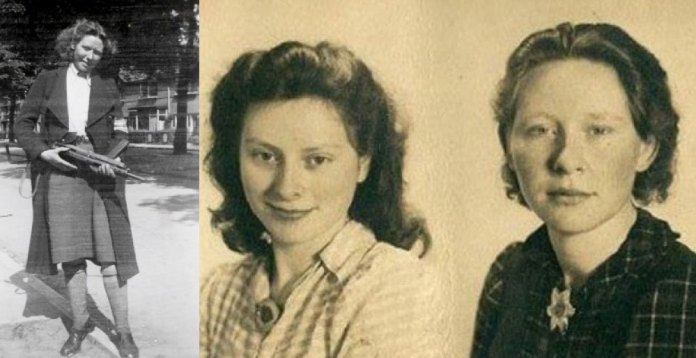 , The beautiful sisters who seduced and killed the Nazis in the forest
