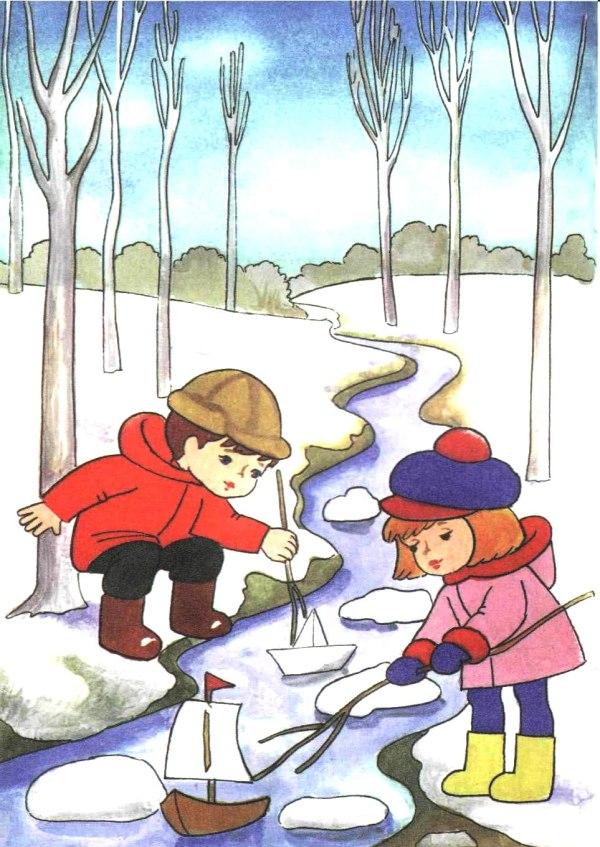 Картинки весны для детей детского сада. Большая коллекция