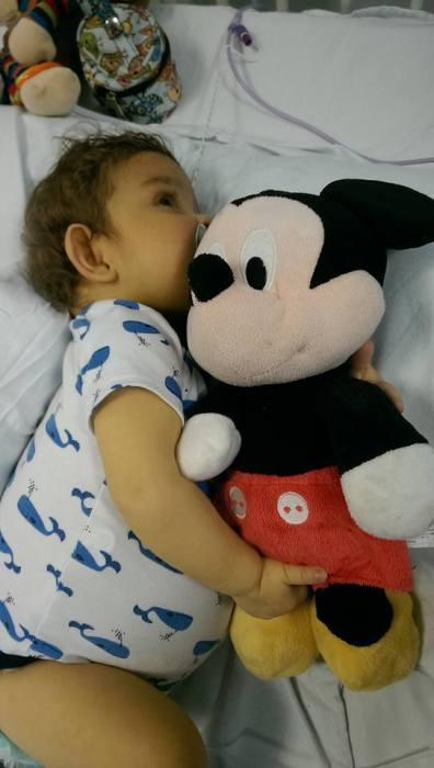 Poor Mickey...