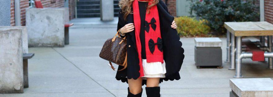 Christmas in Nashville | Christmas fashion | causal Christmas outfit | daytime Christmas outfit | preppy outfit | Christmas outfit 2017