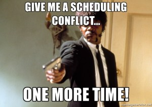 Scheduling residency interviews