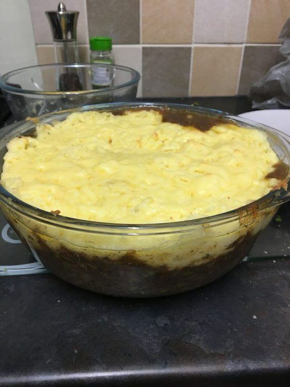 Home made Shepherds Pie