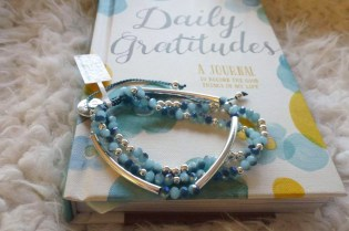 Boho Betty Bracelet and Daily Gratitude's Journal