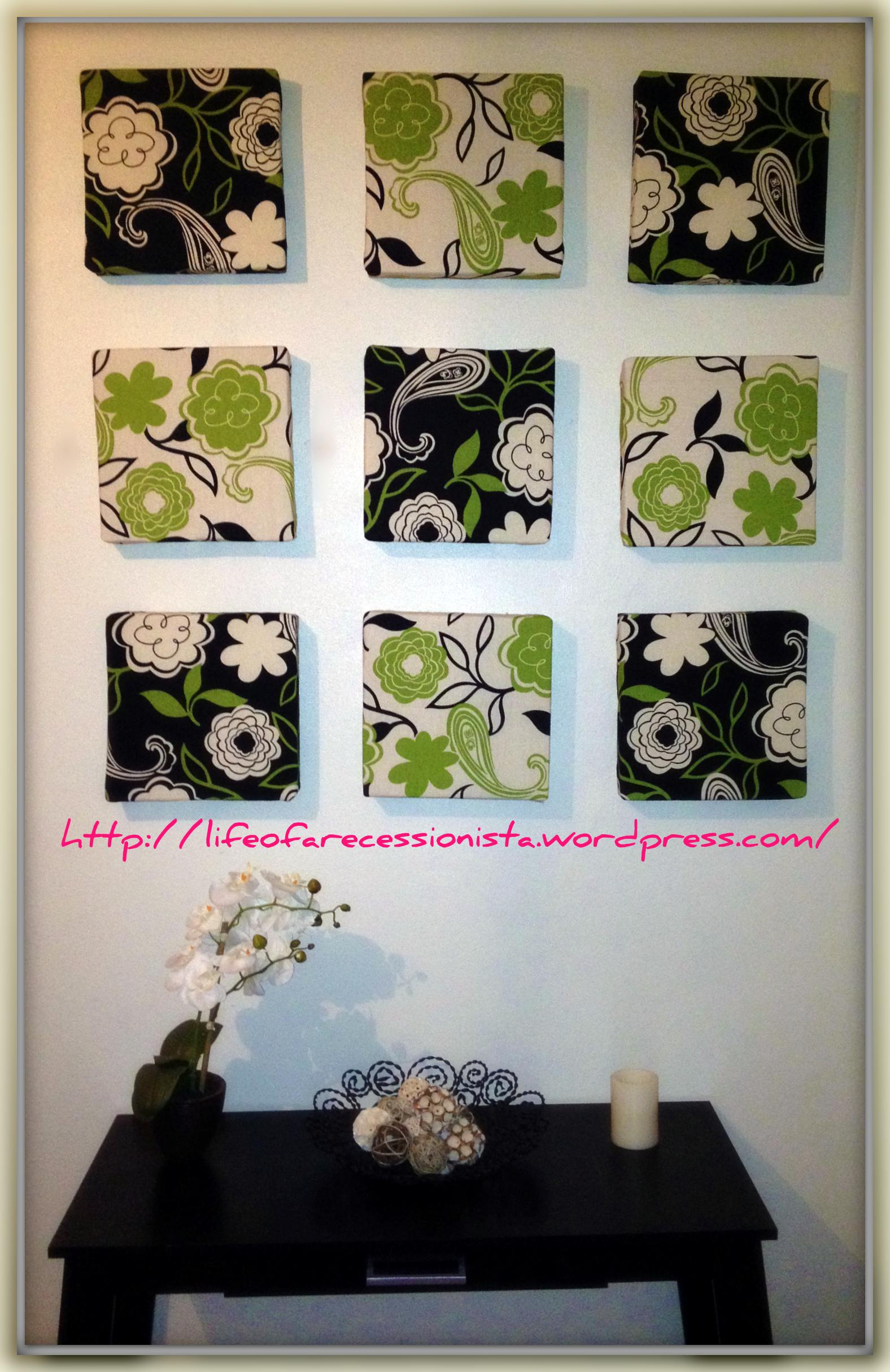 Easy DIY Wall Art | Life of a Recessionista on Pinterest Wall Decor  id=93489