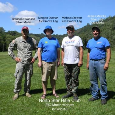 August 13-14, 2016: Clinic & EIC Match – North Star Rifle Club – Red Wing, MN