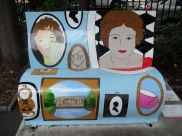 Pride and Prejudice bench