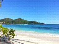 Anse Soleil on Mahe island, Seychelles