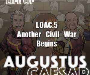 Augustus Caesar #05 – Another Civil War Begins