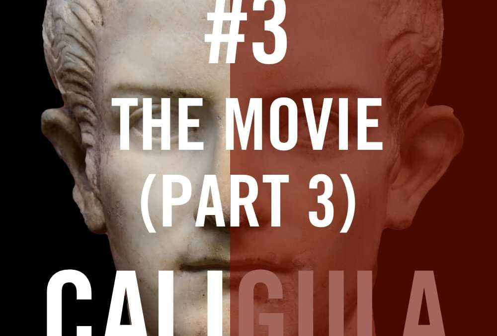 We continue and finish our live commentary on the 1979 epic film, CALIGULA. Picking up where we left off last week, Caligula is fisting the married couple and he doesn't even remove his ring. A dark and stormy night leads to night terrors, a super hot threesome between Caligula, his sister and Helen Mirren, a gratuitous but welcome sultry Italian lesbian scene, spinning plates, a Helen Mirren does Madonna dance scene, some torture, a horse in a bed, death, crazy, an orgy on a fake ship, and we close with brains being bashed out on the stairs. It's one helluva film.