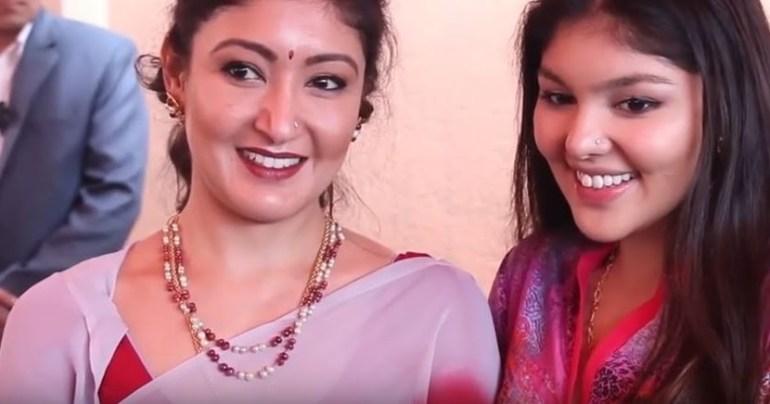Himani Shah with Purnika Shah
