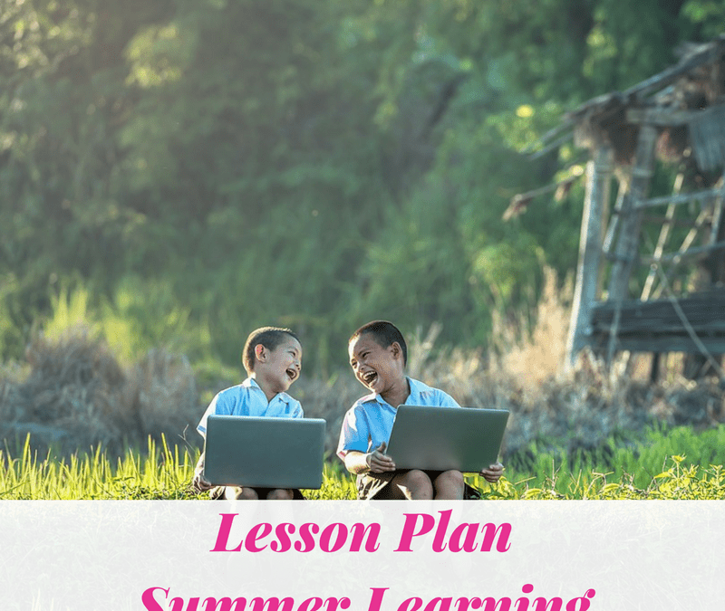 Lesson Plan – Summer Learning