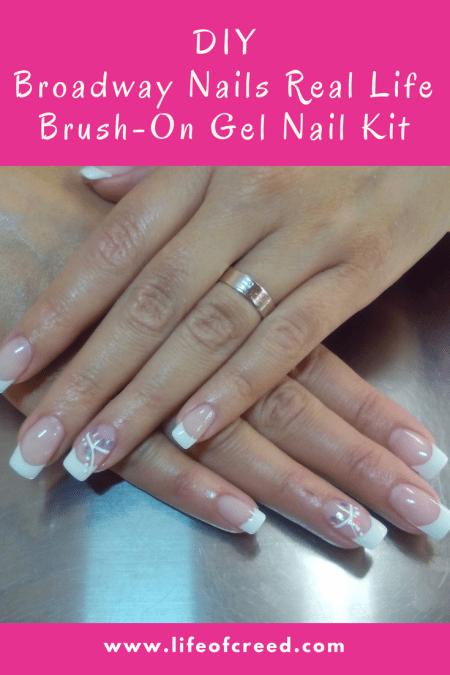 Broadway Nails Real Life Brush-on gel nail kit