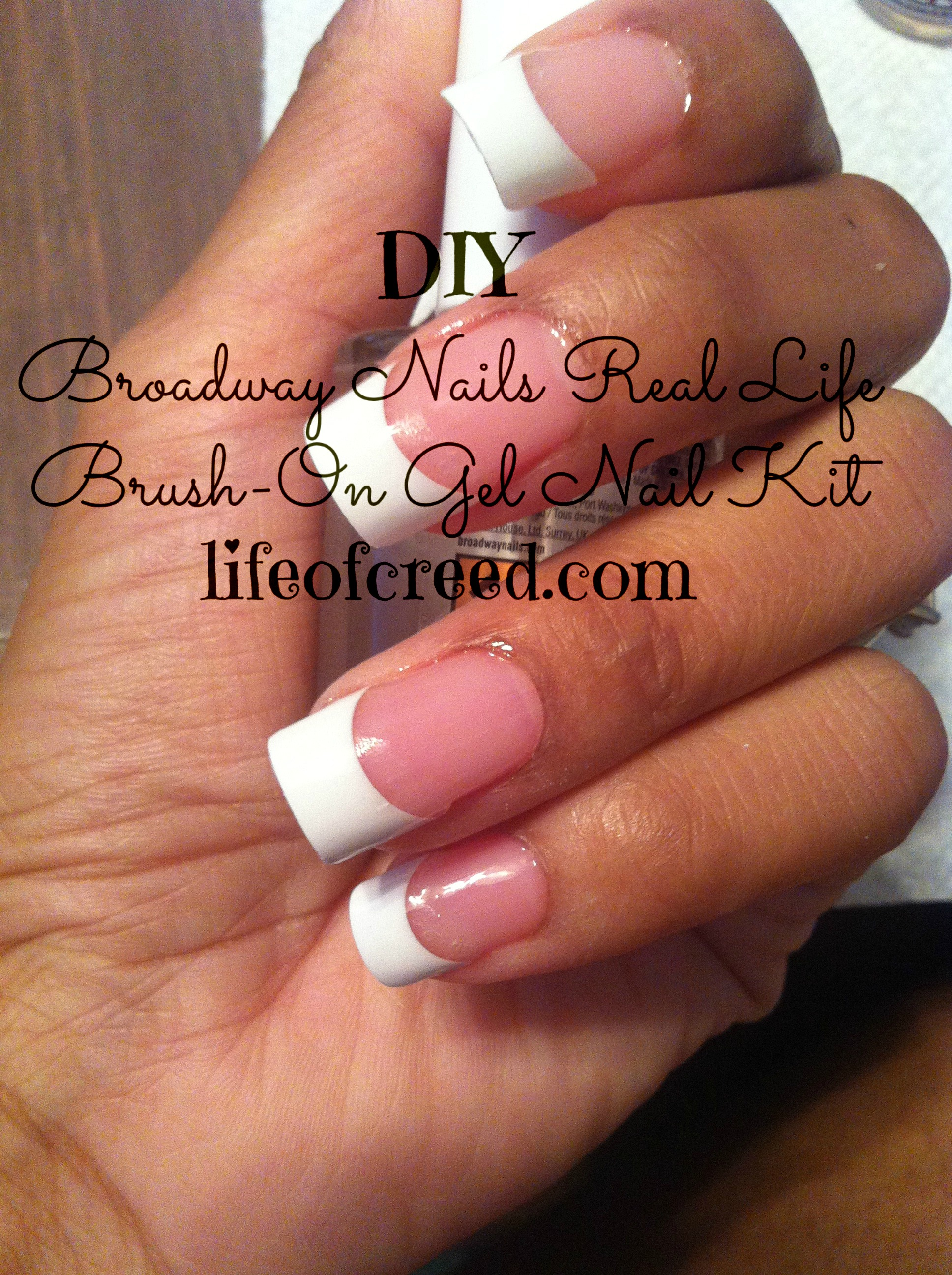 Diy Broadway Nails Real Life Brush On Gel Nail Kit