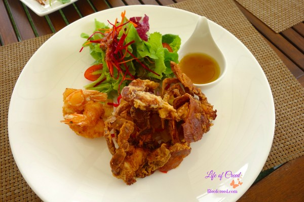 Thailand, Seacret, Phuket, Fried Soft Shell Crab Salad