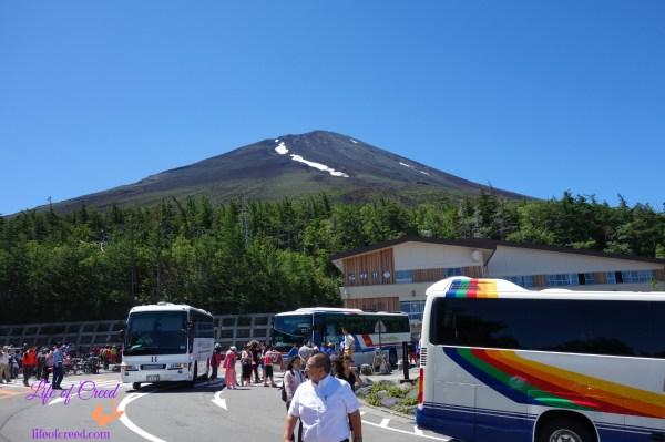 mount fuji family hike